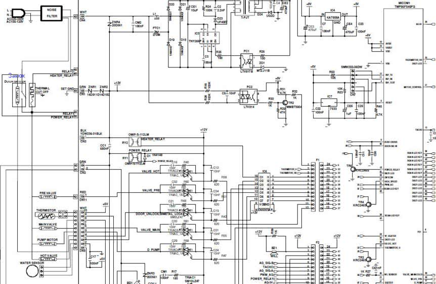 00035a схема dc41 Scheda main